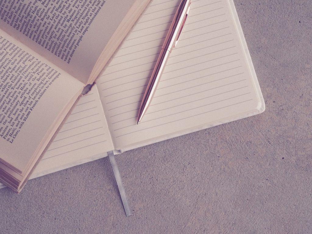 book bindings, paper, page