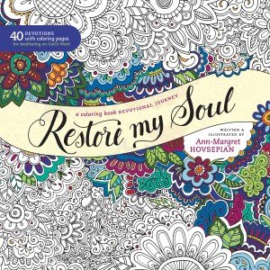Restore My Soul - a coloring book devotional journey